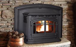 M55 Enviro Pellet Fireplace Insert