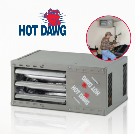Hot Dawg Space Heater